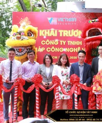 Dịch vụ tổ chức lễ khai trương tại Tây Ninh